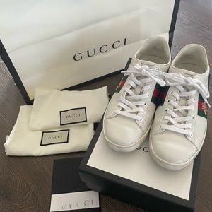 Gucci 'Ace' Sneakers, Size 38